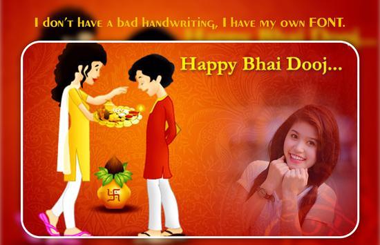 Bhai Dooj Photo Editor apk screenshot