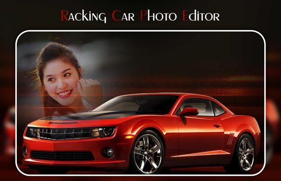 Racing Car Photo Editor poster