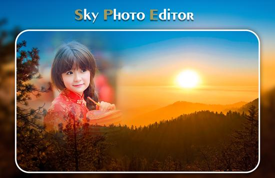 Sky Photo Editor screenshot 1