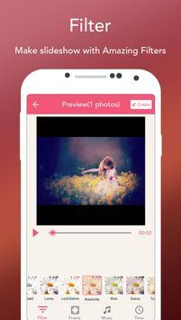 Photo Slideshow with Music - Song Movie Maker apk screenshot