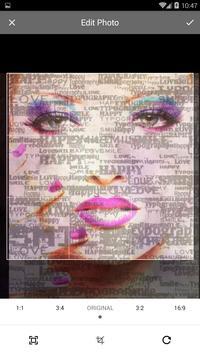 TypoGraphy Image Effect Editor screenshot 2