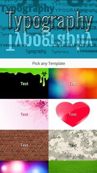 TypoGraphy Image Effect Editor screenshot 5