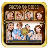 Photo Video Editor with Song icon