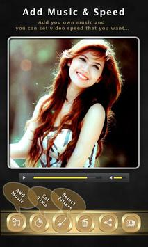 Photo Video Editor with Song apk screenshot