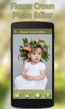 Flower Crown Photo Editor screenshot 1