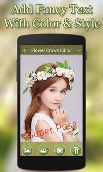 Flower Crown Photo Editor screenshot 2