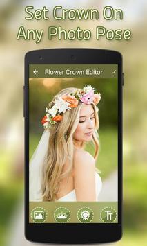 Flower Crown Photo Editor screenshot 3