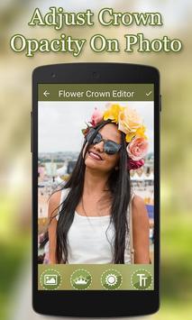 Flower Crown Photo Editor screenshot 4