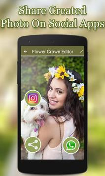 Flower Crown Photo Editor screenshot 5