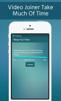 Unlimited Video Merger Joiner - Easy Video Joiner apk screenshot