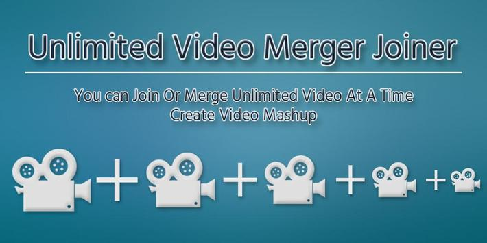 Unlimited Video Merger Joiner - Easy Video Joiner poster