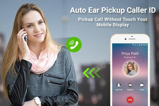 Gesture Answer Call - Auto Ear Pickup Caller ID poster