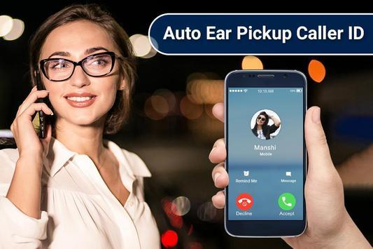Gesture Answer Call - Auto Ear Pickup Caller ID screenshot 1