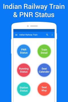 Live Train IRCTC PNR Status & Indian Rail Info poster