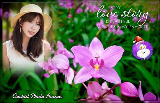 Orchid Photo Frames screenshot 3