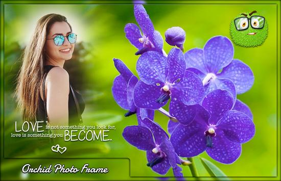Orchid Photo Frames screenshot 2