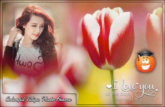 Colourful Tulips Photo Frames screenshot 3
