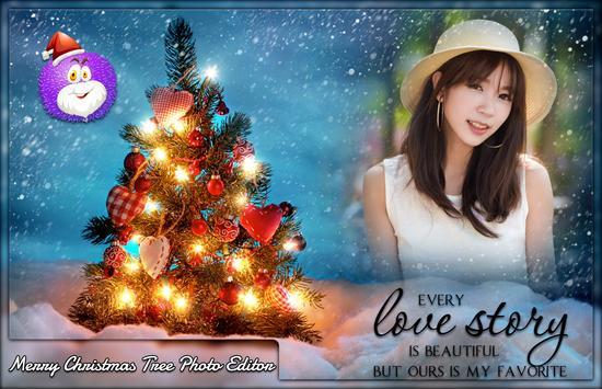 Merry Christmas Tree Photo Editor screenshot 3