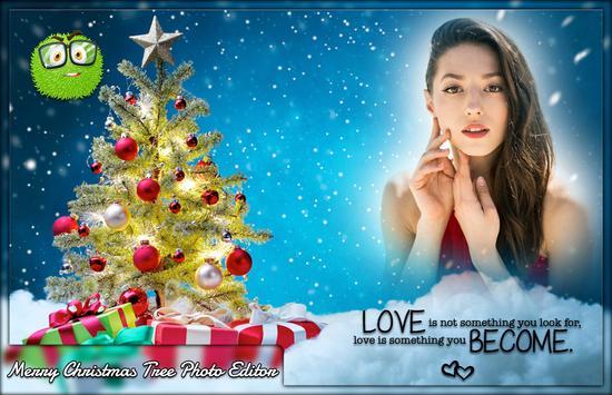 Merry Christmas Tree Photo Editor screenshot 2