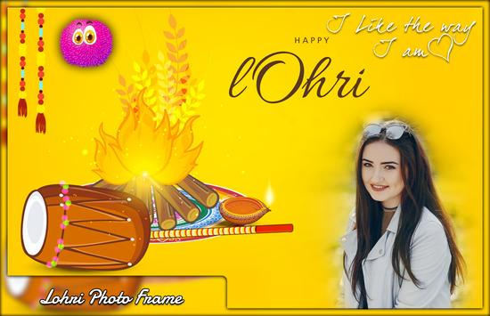 Lohri Photo Frames 海报