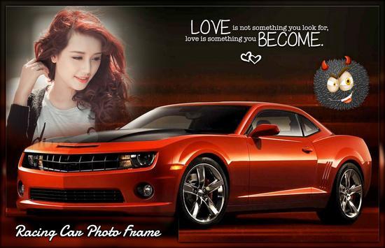 Racing Car Photo Frames screenshot 1