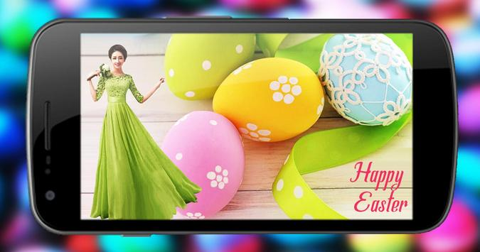 Easter photo editor poster