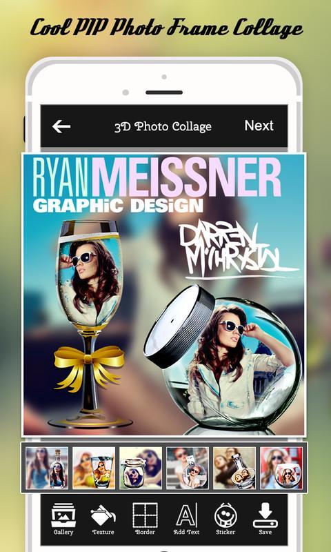 3d photo collage maker 2018 apk baixar gr tis fotografia aplicativo para android. Black Bedroom Furniture Sets. Home Design Ideas