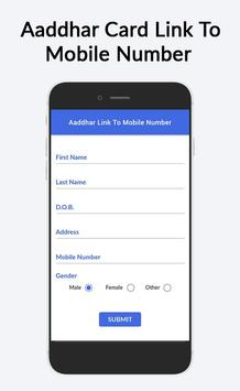 Guide For Aadhar Card Link to Mobile Number screenshot 1