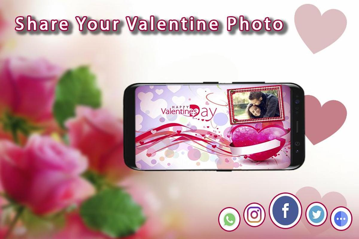 Valentine Day Photo Editor 2018 - Love frames 2018 for Android - APK ...