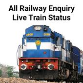Live Train Status, PNR Status & Train Tickets icon