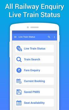 Live Train Status, PNR Status & Train Tickets poster