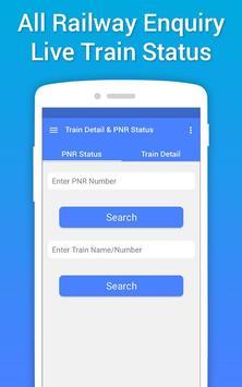 Live Train Status, PNR Status & Train Tickets screenshot 2