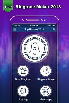 Top Ringtone 2018:New Ringtone Maker & MP3 Cutter poster