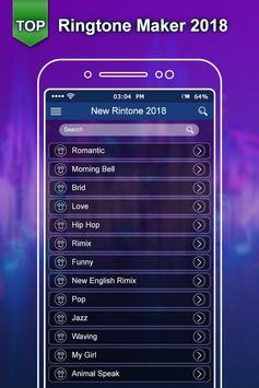 Top Ringtone 2018:New Ringtone Maker & MP3 Cutter screenshot 1