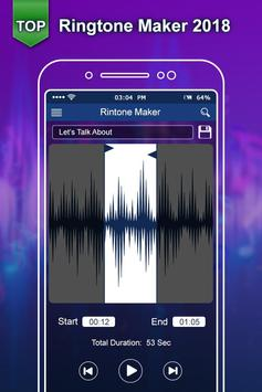 Top Ringtone 2018:New Ringtone Maker & MP3 Cutter screenshot 2