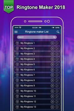 Top Ringtone 2018:New Ringtone Maker & MP3 Cutter screenshot 3