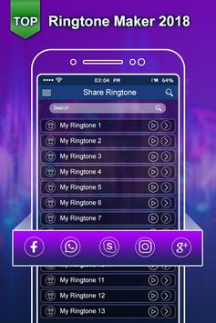 Top Ringtone 2018:New Ringtone Maker & MP3 Cutter screenshot 5