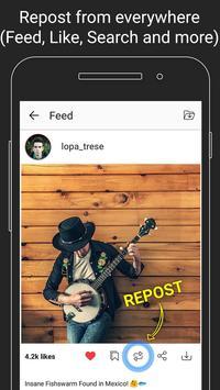 FastRepost screenshot 3