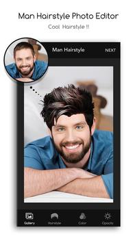 Man Hairstyle Photo Editor apk screenshot