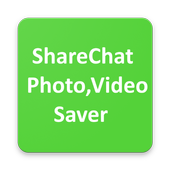 Photo, Video Saver for ShareChat icon