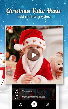 Christmas Video Maker With Music 2017 screenshot 1
