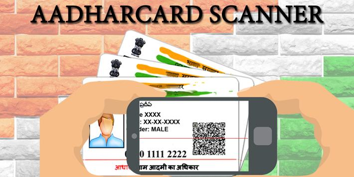 AdharCard Scanner poster