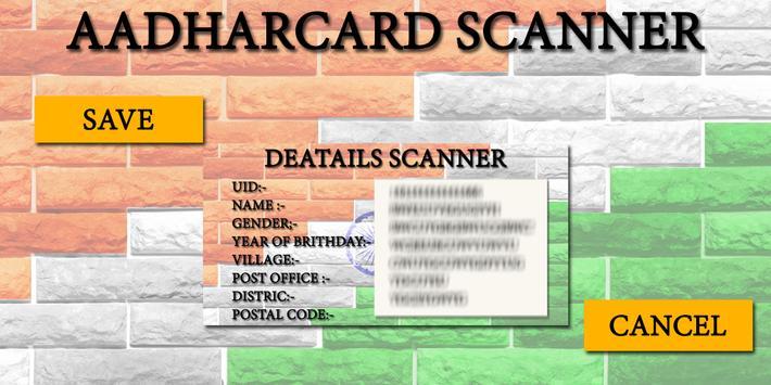 AdharCard Scanner screenshot 2