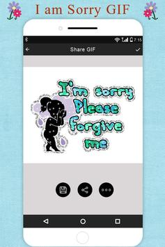I Am Sorry GIF Collection apk screenshot