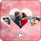 Love Movie Maker with Music : Photo Video Maker icon