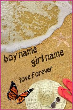 Name Art on Sand screenshot 2