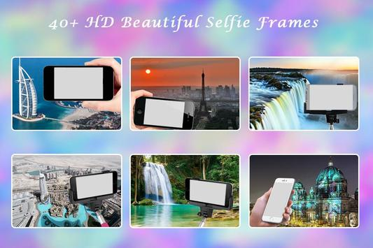 Selfie Photo Frame poster