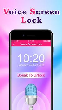 Voice Screen Lock poster