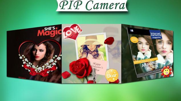 PIP Camera Photo Editor poster