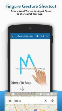 Gesture Launcher screenshot 1